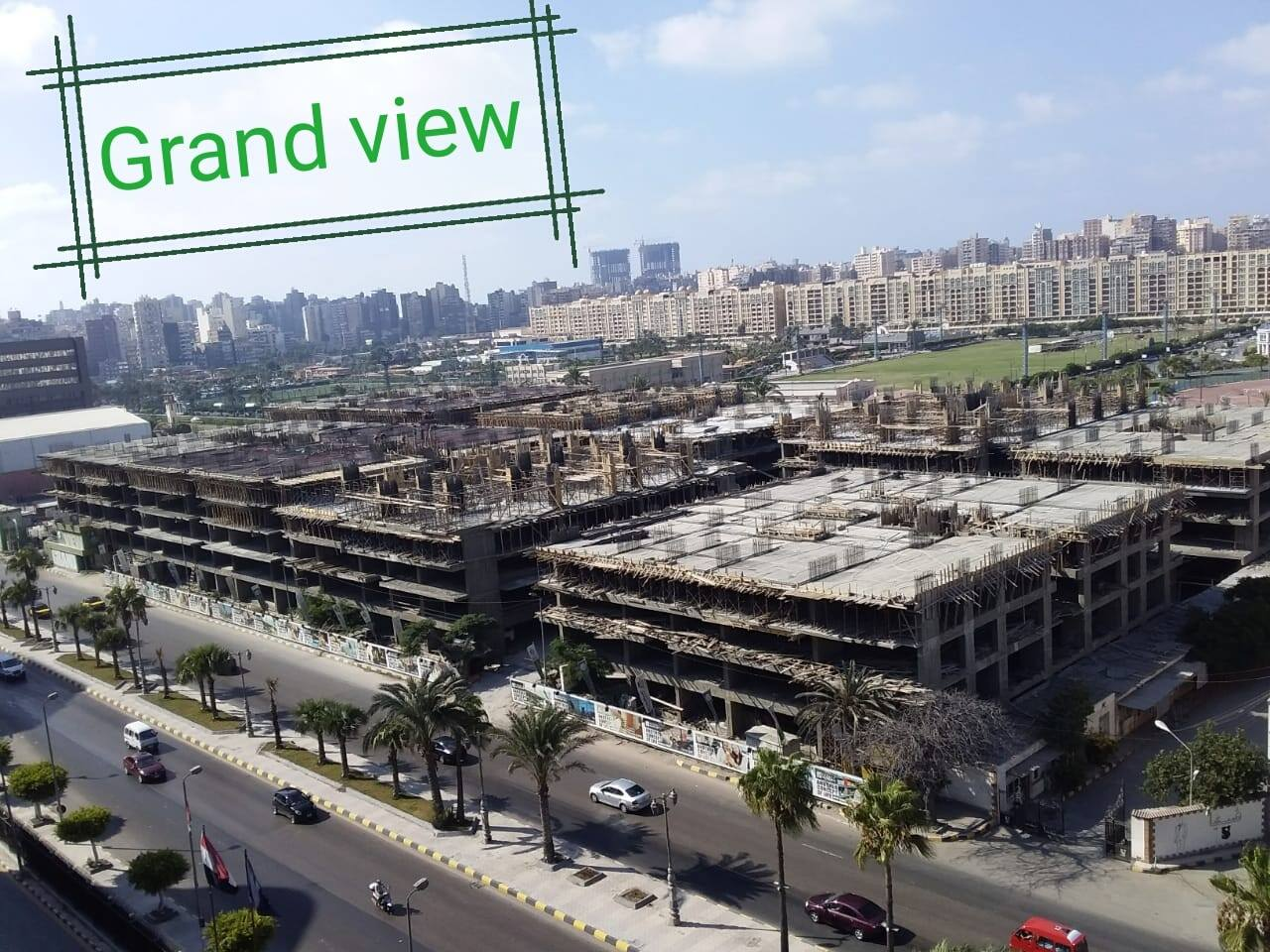 smouha Grand veiw development stages
